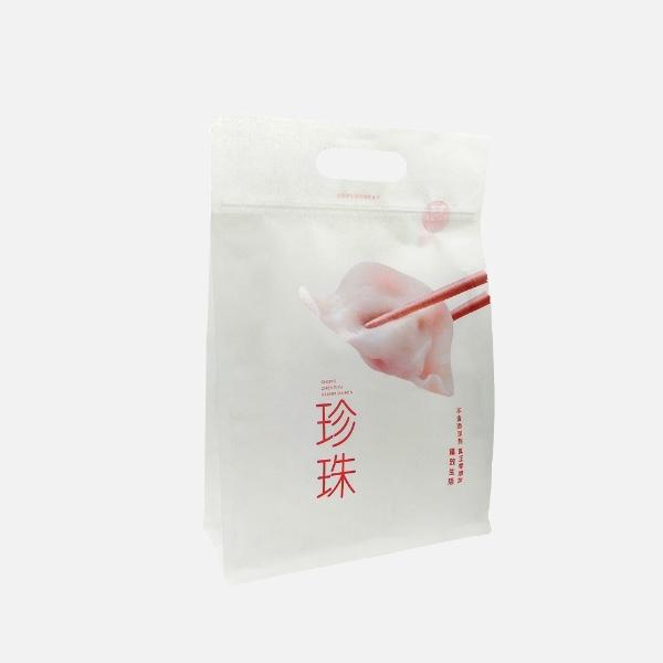 八边封水饺包装袋
